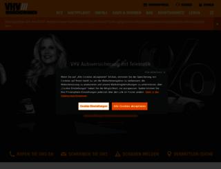 vhv.de screenshot