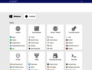 vi.vessoft.com screenshot