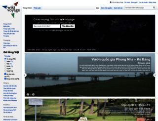 vi.wikivoyage.org screenshot