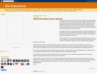 via-insurance.blogspot.com screenshot