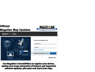 via.magellangps.com screenshot