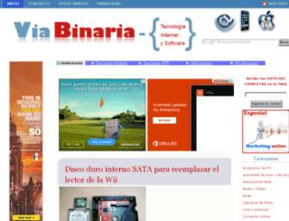 viabinaria.com screenshot