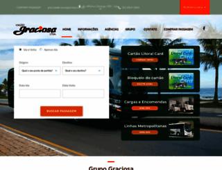 viacaograciosa.com.br screenshot