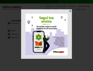 viacargo.com.ar screenshot