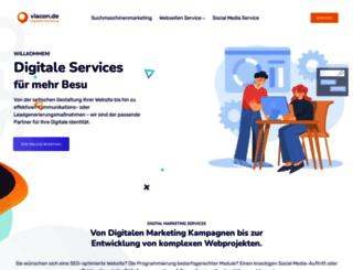 viacon.de screenshot