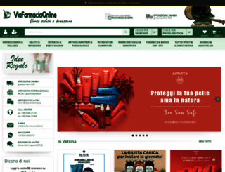viafarmaciaonline.it screenshot