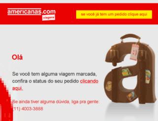 viagens.americanas.com.br screenshot