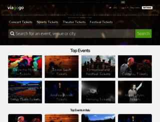 viagogo.it screenshot