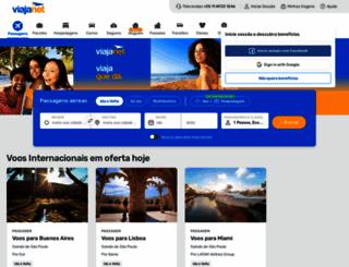 viajanet.com.br screenshot