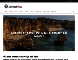 viajaporlibre.com screenshot