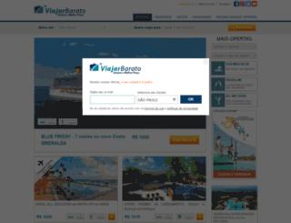 viajarbarato.com.br screenshot