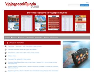 viajarporelmundo.bookingfax.com screenshot