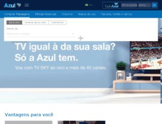 viajemais.voeazul.com.br screenshot
