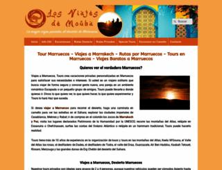 viajemarruecos.es screenshot
