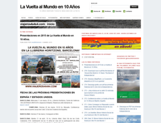 viajeros4x4x4.wordpress.com screenshot