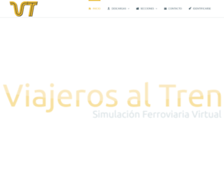viajerosaltren.es screenshot