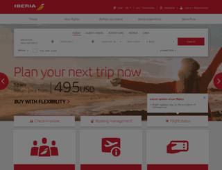 viajes.iberia.com screenshot