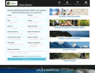 viajesbaratos.org screenshot