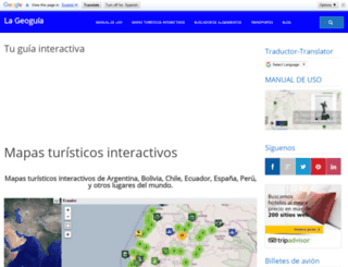 viajeserraticos.com screenshot