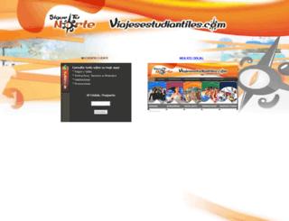 viajesestudiantiles.com screenshot