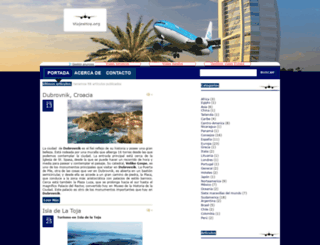 viajeshoy.org screenshot