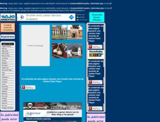 viajoporargentina.com screenshot