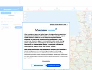 viamichelin.nl screenshot