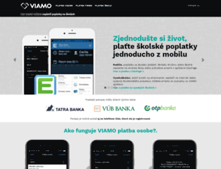 viamo.sk screenshot
