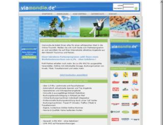 viamondia.de screenshot