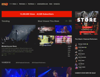 viamtv.voiceinamillion.com screenshot