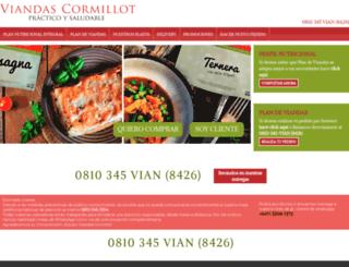 viandascormillot.com screenshot