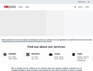 viapass.com screenshot