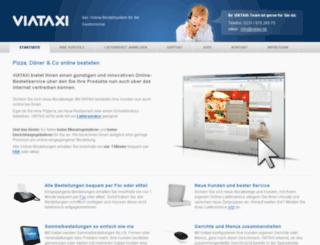 viataxi.de screenshot