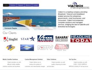 viatech.in screenshot