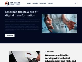 viavitae.co.in screenshot