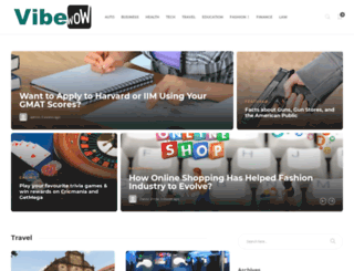 vibewow.com screenshot