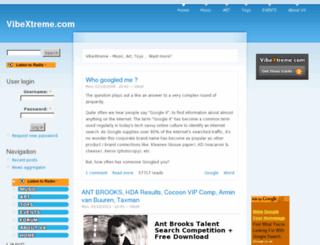 vibextreme.com screenshot