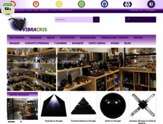 vibrationscristallines.com screenshot