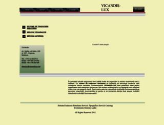 vicandislux.md screenshot