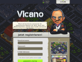 vicano.mafiacontrol.com screenshot
