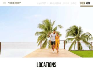 viceroymiami.com screenshot