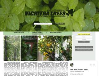 vichitratrees.com screenshot