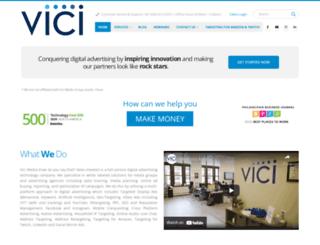 vicimediainc.com screenshot