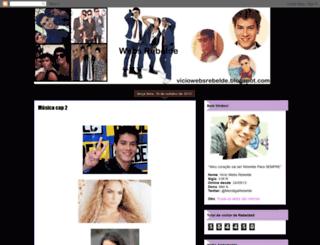 viciowebsrebelde.blogspot.co.uk screenshot