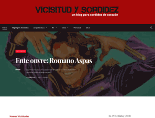vicisitudysordidez.blogspot.co.uk screenshot