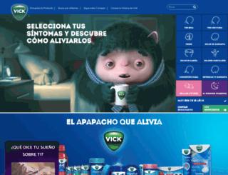 vick.com.mx screenshot