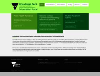 vicknowledgebank.net.au screenshot
