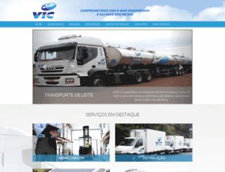 viclogistica.com.br screenshot
