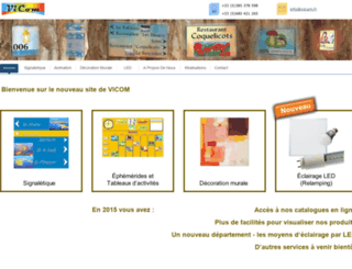 vicom.fr screenshot