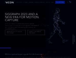 vicon.com screenshot